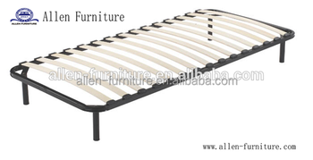 Wholesale Strengthen Europe Slats Bed Frame With Center Support 5 Legs
