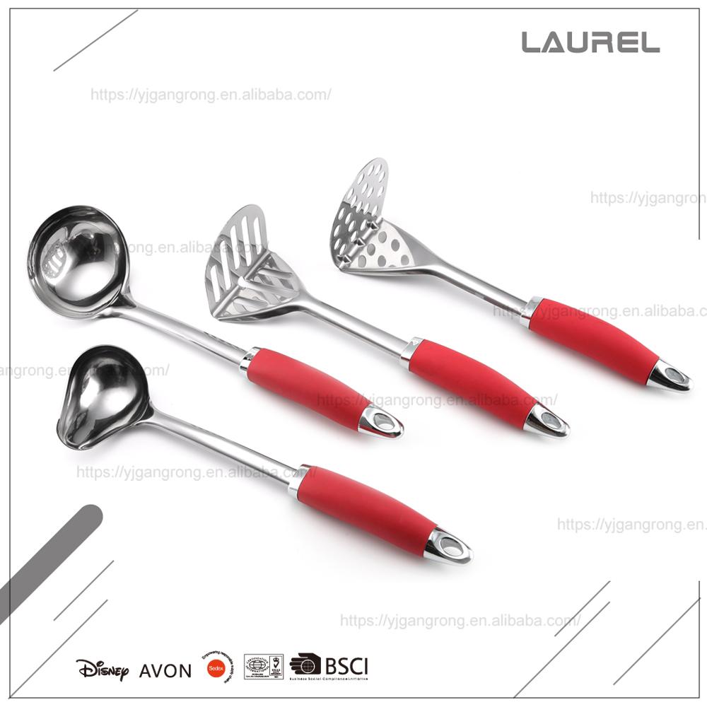 De acero inoxidable utensilios de cocina set de cocina de for Utensilios alta cocina