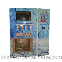 Güney Afrika popüler ticari açık buz otomatı otomatı buz makinesi satılık