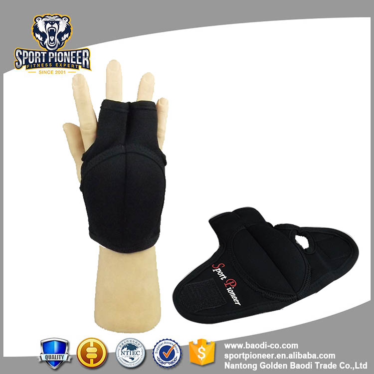 1KG Black Neoprene Weight Lifting Glove