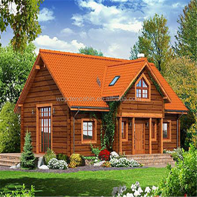 New style Good quality log cabins wooden house Manufacturer from China