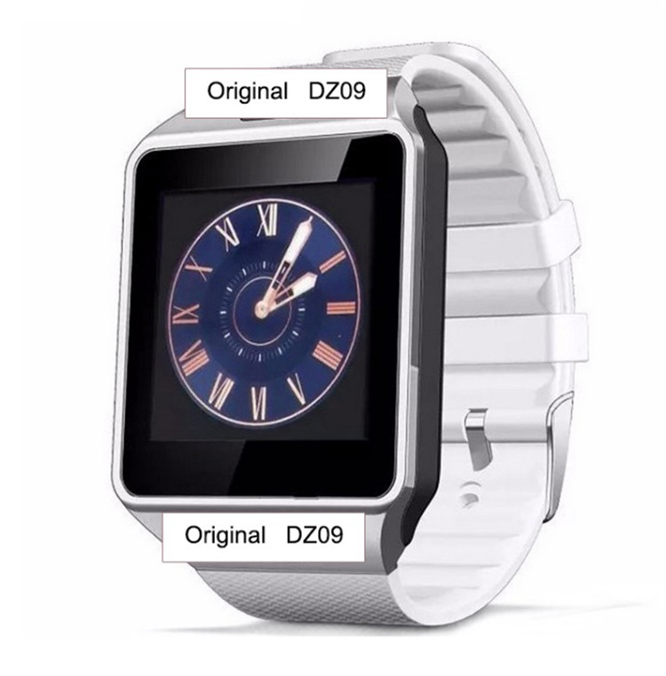 2018 Amazon Hot Selling Bluetooth Wifi Smartwatch DZ09 Android Sport Smart Watch Mobile Phones