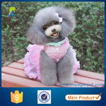 Lovoyager 2014 stocked winter pet clothes wholesale girl dog costumes dog dress