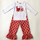bulk wholesale clothes new style kids boutique clothing valentine girls outfit