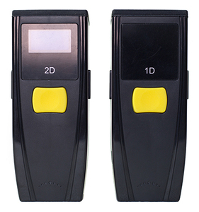 1D/2D portable with display smallest qr code reader barcode scanner