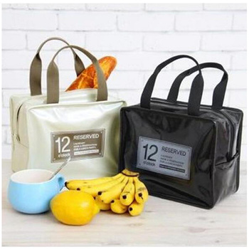 high quality durable light pu whole food cooler bag/insulated leather cooler lunch bag