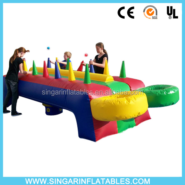 Funny inflatable potato games,inflatable floating ball game