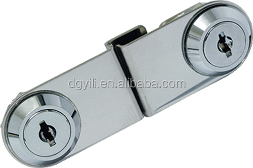 Cabinet Swing Glass Door Lock For Double Doors For Glass Thickness ...