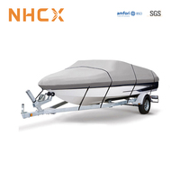 NHCX 10+ Years Factory Lightweight Waterproof Trailerable Boat Cover