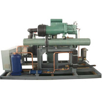 Water-cooled condenser unit stand