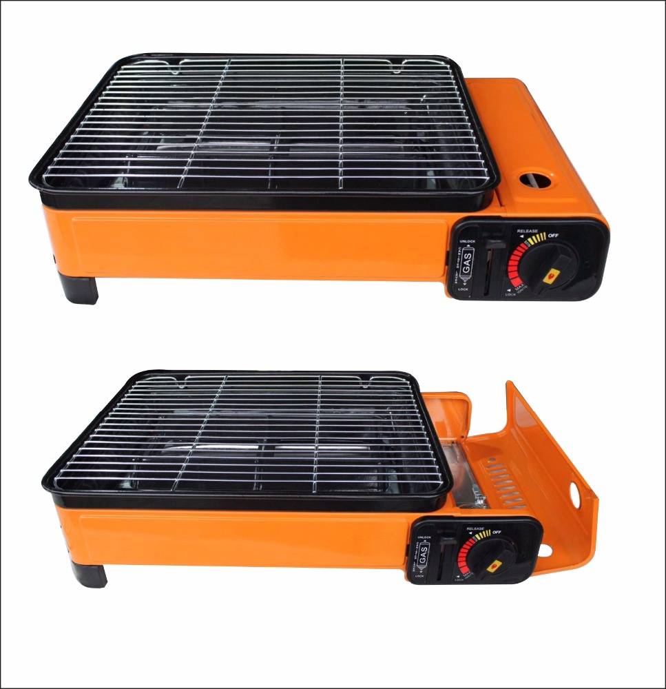 2 in 1 portable gas stove / gas burner / gas cooker
