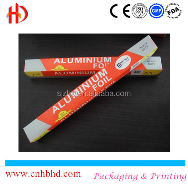 Food packaging China aluminium foil brands with aluminum foil blade