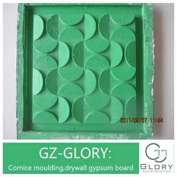 Gypsum palster making Gypsum plaster decorative Background 3d wall panel  mold, View making plaster 3d wall panel mold, GLORY Product Details from