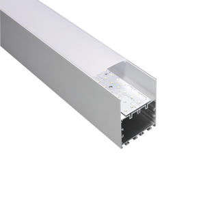 TL 75*75A driver inside Aluminum and pc diffuser extrusion aluminum led profile for strips
