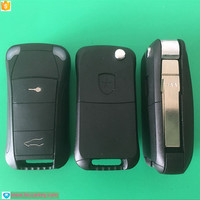 Top Quality Flip Remote Key Fob Case Shell 2 Button