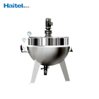 Automatic hot sale steam gas sugar cooking stirrer pot machinery for small business