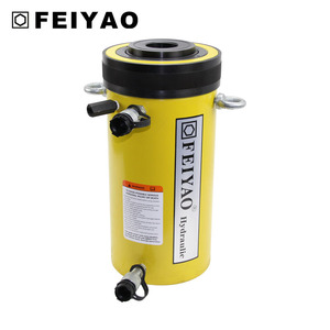 FY-RRH-606 hollow plunger hydraulic cylinder with double acting/stroke 165 mm