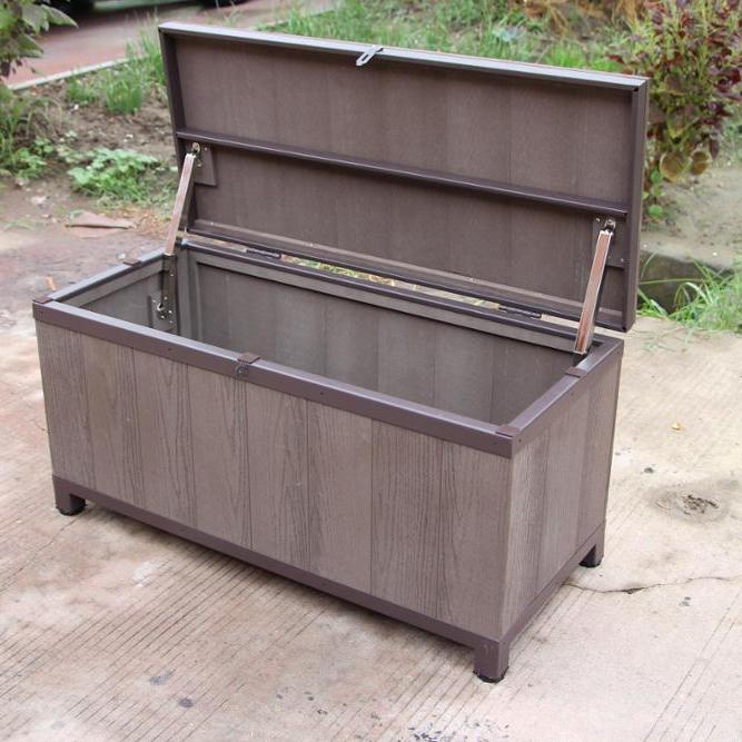 Wpc Wood Plastic Composite Outdoor Storage Bench