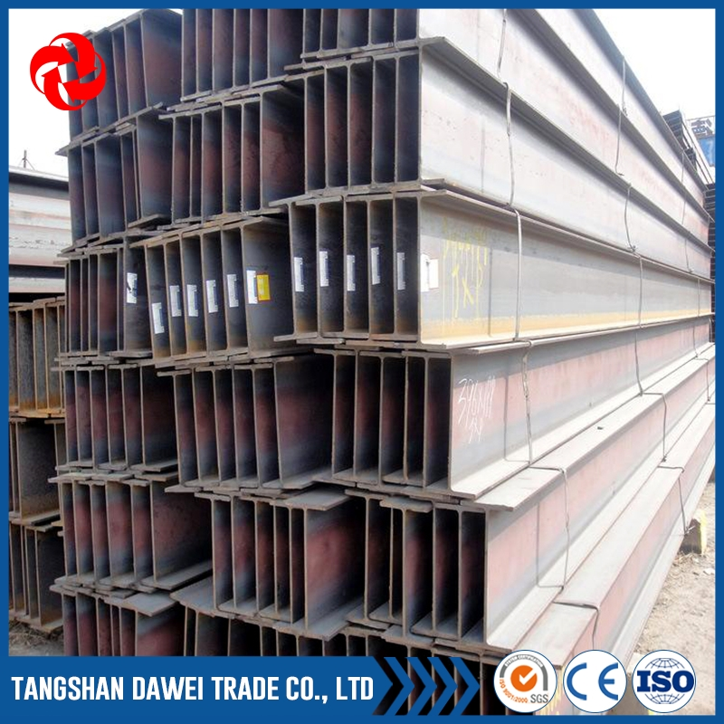 JIS Standard h steel beam sizes wide flange H-beam rods