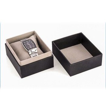 Selling cheap different types gift packaging paper watch box