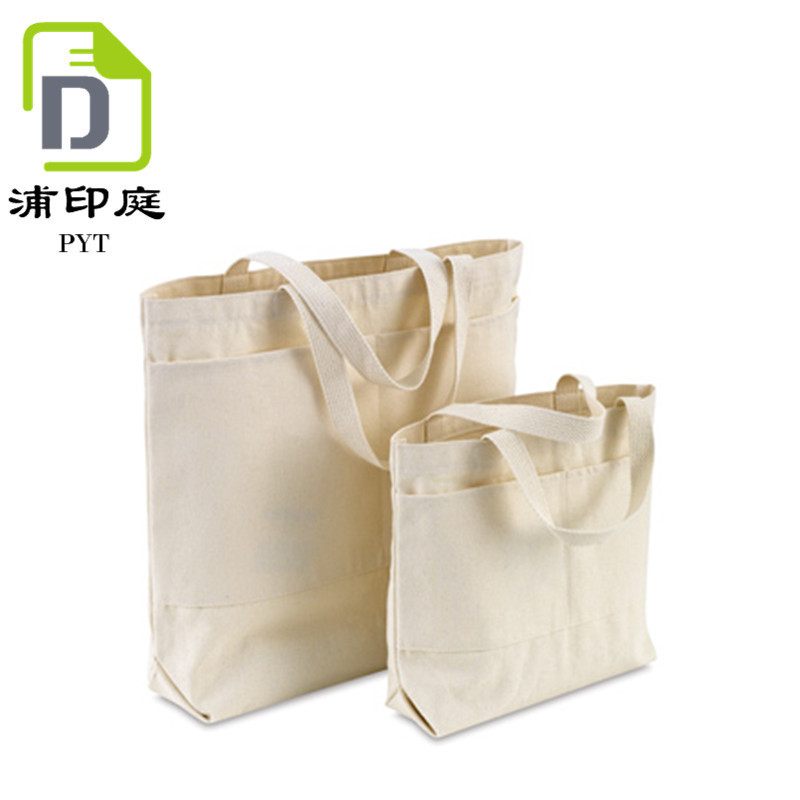 be46e16f3c1 Reusable Grocery Canvas Bag Durable with double stitch and two sturdy  shoulder straps to handle heavy