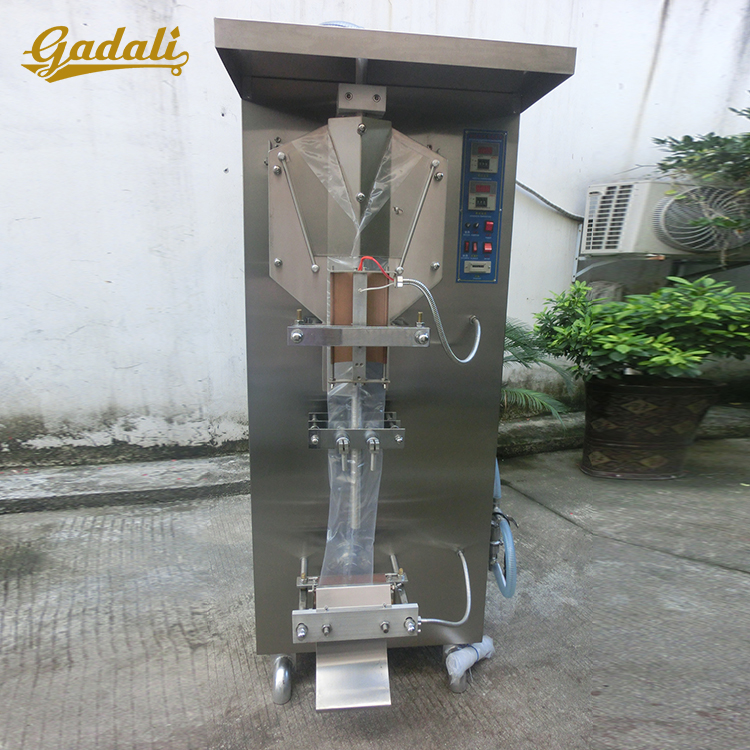 Hot sale sachet water pouch packaging machine