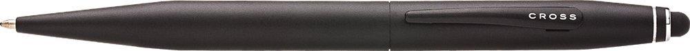 Cross Tech2 Satin Black Ballpoint Pen with 6mm Stylus (AT0652-1)