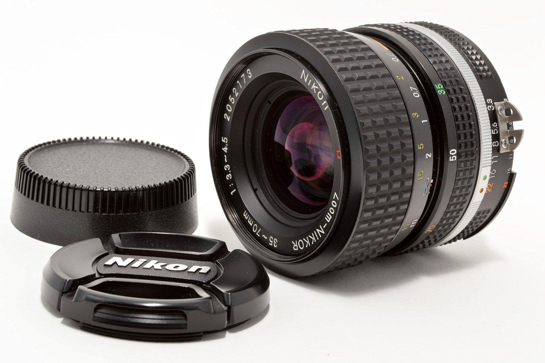 NIKON AI-S D AIS NIKKOR 35-70mm F3.3-4.5 F/3.3-4.5 MF Zoom Lens (S/N:2052173)#55865
