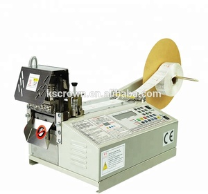 Multi-function automatic ribbon cutting machine leather strap end cutter machine