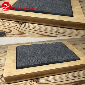 cheapest grey hot stone grill steak cooking set stone