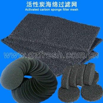 Frs-acf Activated Carbon Sponge Filter Mesh (manufacture)
