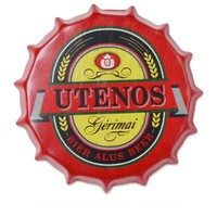 Customized beer tinplate crown caps for wall decoration