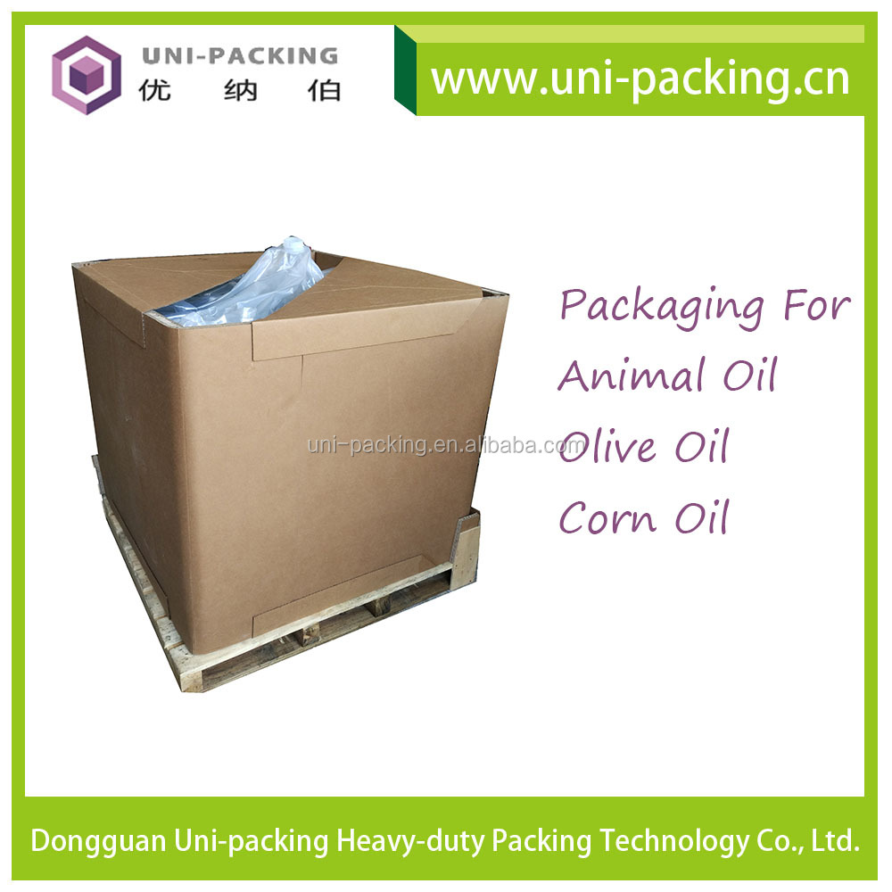 1000L Animal Oil Olive Oil Packaging Paper IBC , Corn Oil Paper IBC