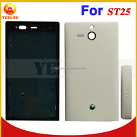 Factory Price For Sony ST25i U Case Cover Wholesale Full Housing Cover Back Door