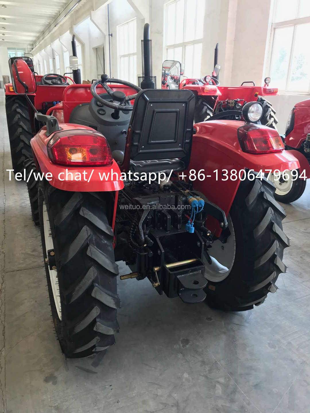 MF 60hp 4WD  agricultural tractor