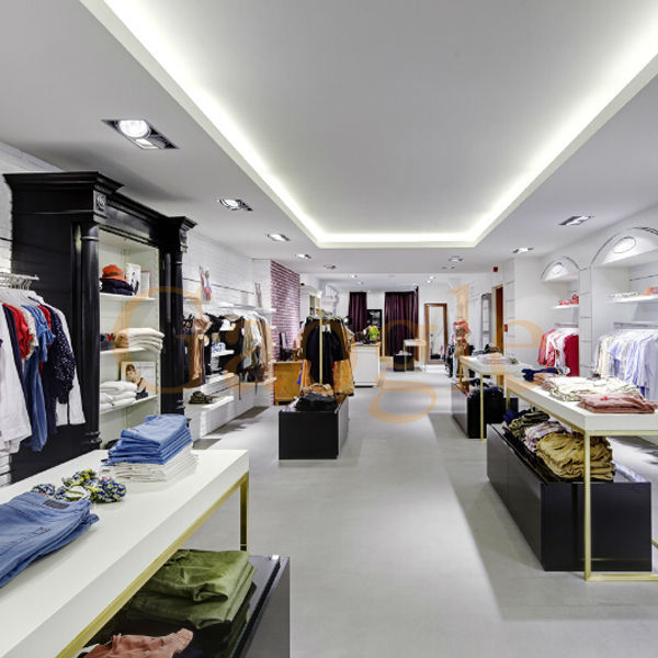Oem Garment Shop Interior Design Clothing Store Furniture Garment