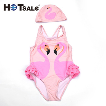 c7b07747fa Free Sample Baby Girls Kids Cute Halter Swimsuit Bathing Suit Swimwear  Beachwear Children One Piece Bikini