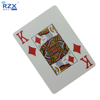 Customized Size 4C Printed 13.56Mhz HF Entertainment RFID Poker Playing Card