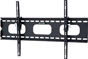 Mount-It! Low-Profile Tilting TV Wall Mount Bracket for 32 - 60 inch LCD, LED, OLED, 4K or Plasma Flat Screen TVs - 175 lbs Capacity, 1.5 Inch Profile, Max VESA 600x400 (MI-318B)