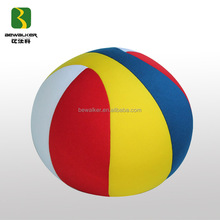 Different Color Stitching Fabric Beads Inside Children's Ball Toy