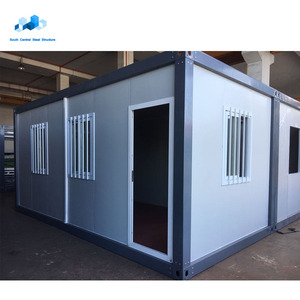 Good fire resistance detachable luxury prefabricated expandable 40ft new construction office container