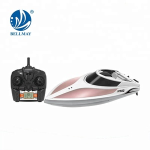 Hot sale 2.4GHz RC Racing High Speed Remote Control Boat For Kids