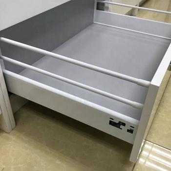 Metal Dresser Heavy Duty Full Extension Undermount Kitchen Drawer