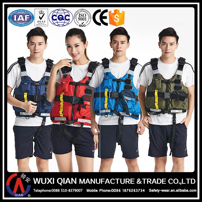 Wholesale fishing tackle foam life jacket/life vest with heated tech