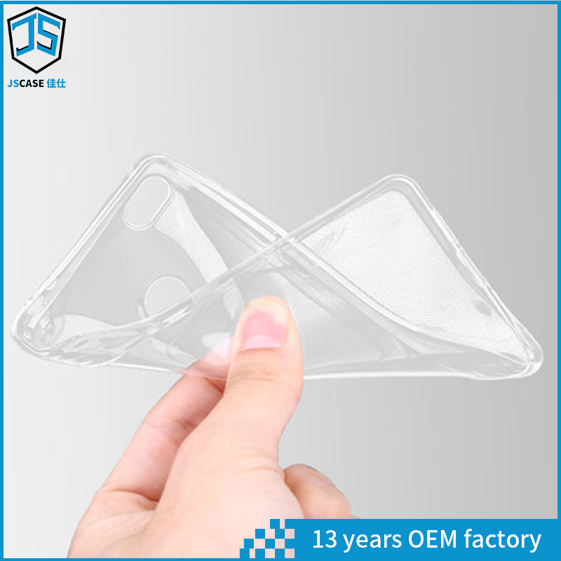 1.0mm Thickness TPU Case Water Proof Transparent Mirror Cover for Xiaomi Mi 4S
