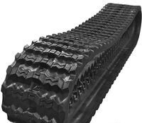 Agriculture machinery rubber track/ rubbers for Yanmar harvester vehicle