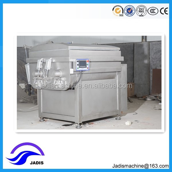 304 stainless steel industrial electric vacuum meat mixer for sale