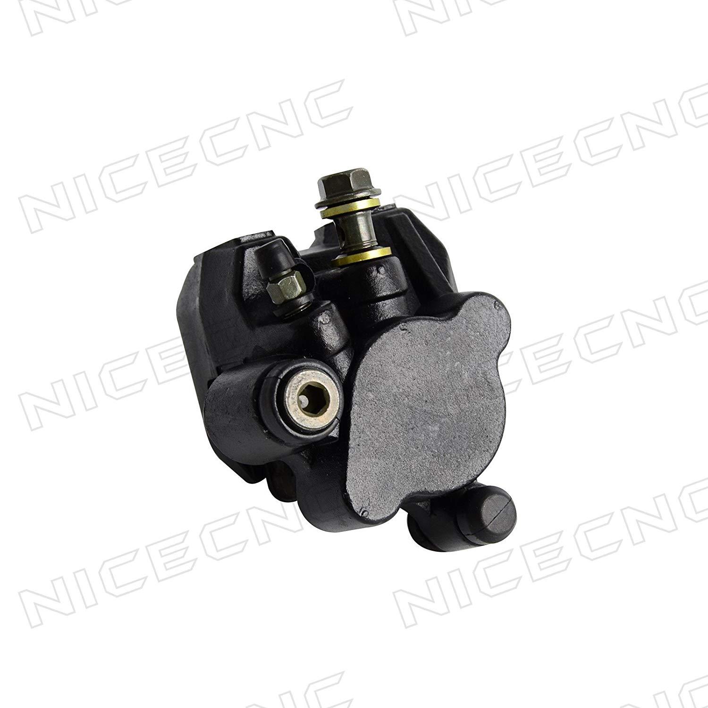NICECNC Rear Brake Caliper and brake Pads for TRX400EX SPORTRAX 400EX H-O-N-DA 1999-2009,2012-2014 Replace 43250-HN1-006,43250-HN1-A41