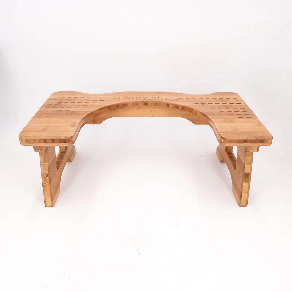 Wood Bamboo Bathroom Squatting
