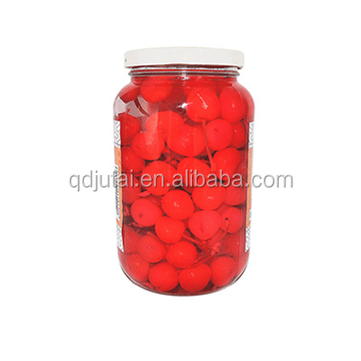 Healthy food canned cherry of good quality with factory price